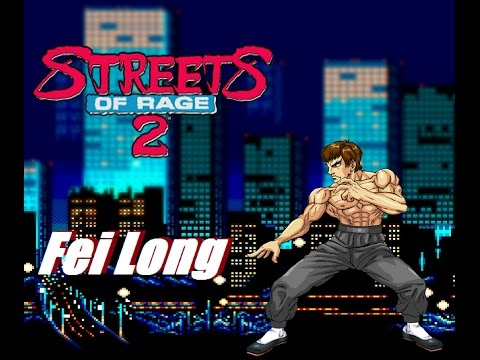Fei Long in Streets of Rage 2
