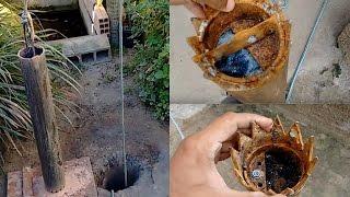 Cavando poço artesiano manual. part. 02 (fazendo a broca) thumbnail