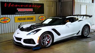 905 RWHP 2019 ZR1 Corvette Tuned by Hennessey Performance