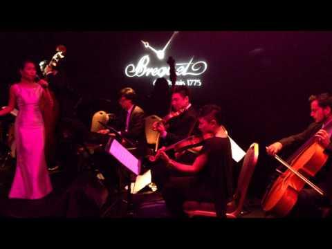 如果没有你 (I Cannot Live Without You) - Janet Lee & 6-piece ensemble @ Breguet dinner