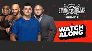 Live NXT TakeOver: Stand & Deliver - Night 2 Watch Along