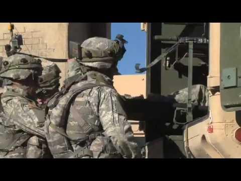 NTC Trauma lane (warning graphic training footage)