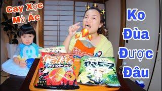 Liều Mạng Ăn Thử Snack Cay, Snack Wasabi & Cái Kết Cho Học Bài Nhớ Đời #405