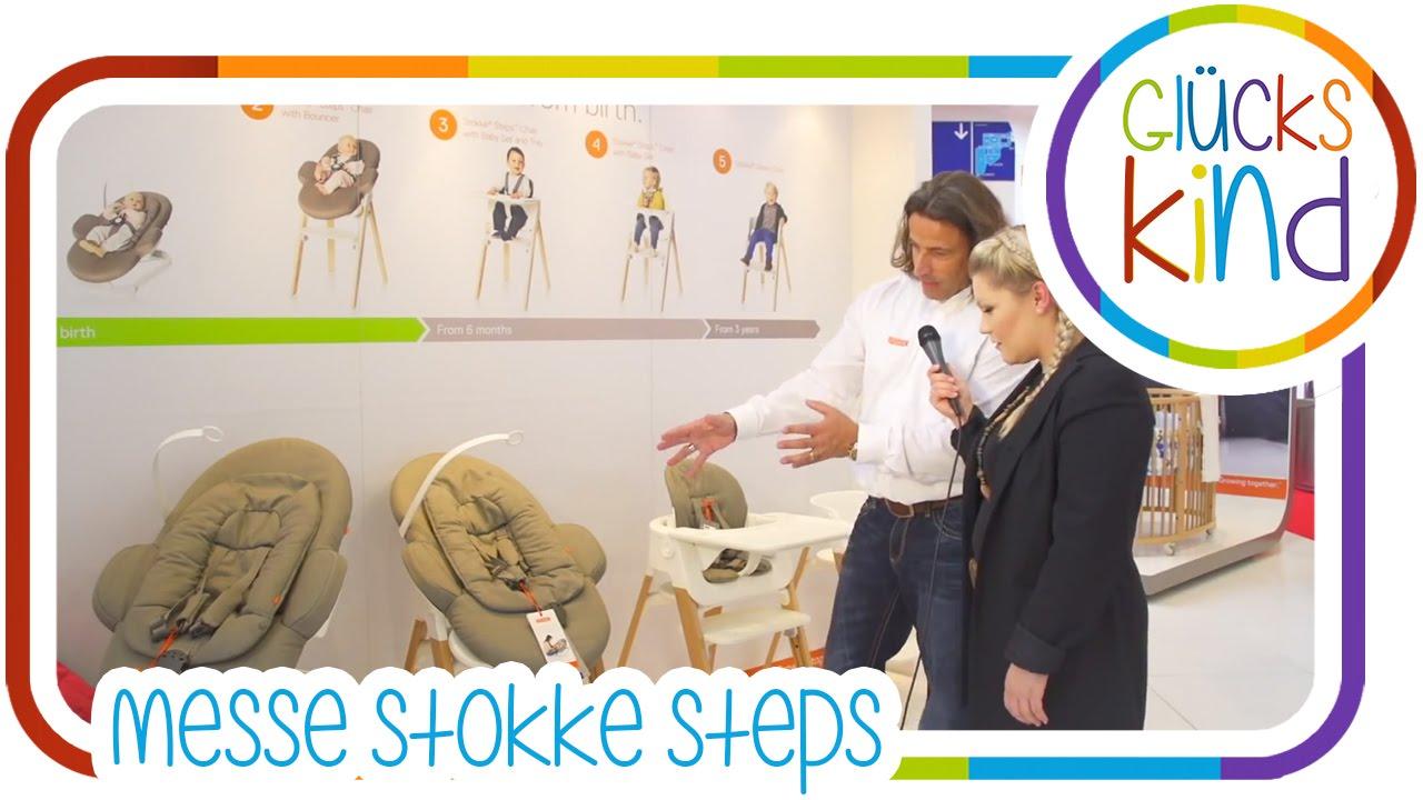 stokke stokke steps stuhl wippe babywelt essen das gl ckskind babyblog youtube. Black Bedroom Furniture Sets. Home Design Ideas