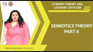 Semiotics theory PART A
