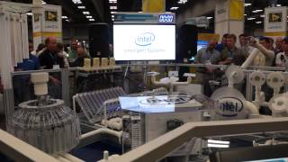 Intel real life Pipe Dream instruments - Animusic