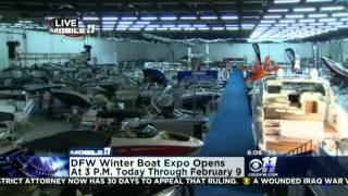 CBS KTVT 06:07 AM 1/31/14 DFW Boat Show