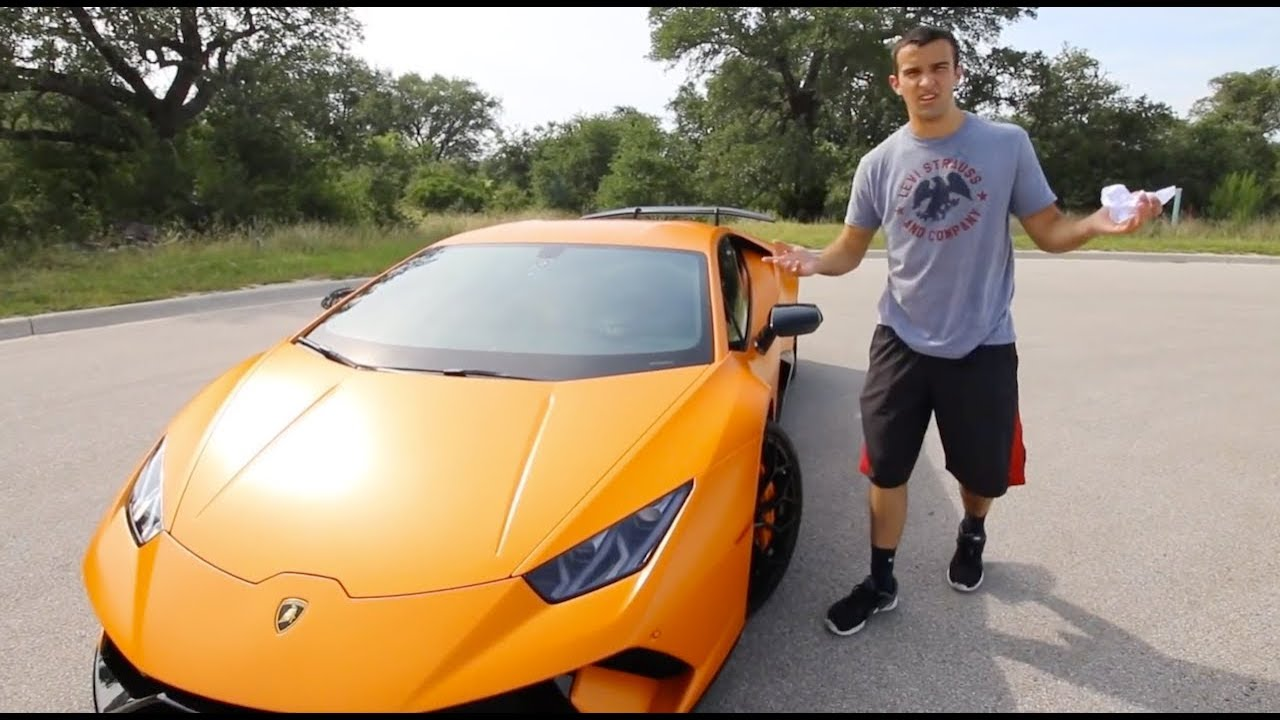 Can you drive a lamborghini every day