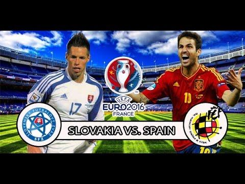 Spain vs Slovakia HIGHLIGHTS AND GOALS | ANDRES INIESTA & JORDI ALBA GOAL [HD]