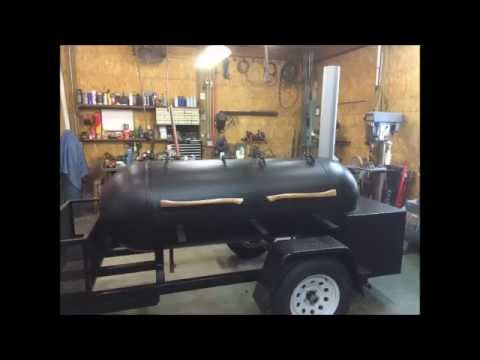 Reverse Flow Smoker Build 250 Gallon Propane Tank Youtube