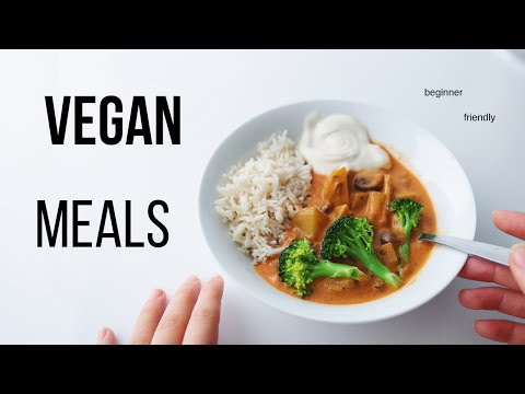 Vegan Meal Ideas for Beginners! (cozy & tasty)