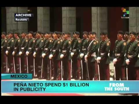 Mexico: Peña Nieto Spent US$1bn in Advertising