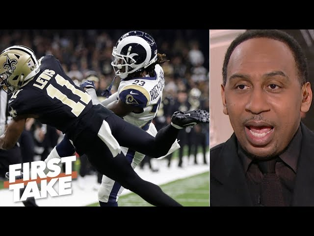 Saints' loss to Rams is 'on the league office' - Stephen A. | First Take