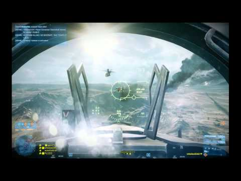 Battlefield 3: IzNoGooD343 in jet @ Operation Firestorm #2