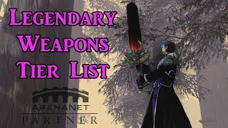 Guild Wars 2 Legendary Weapons Tier List + Showcase #GW2EOD