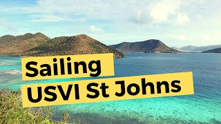 Sailing St John Virgin Islands