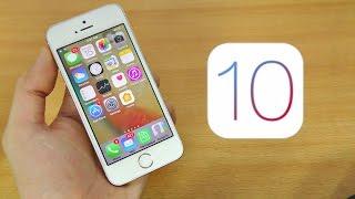 iPhone 5S iOS 10 Full Review! (BETA 1)