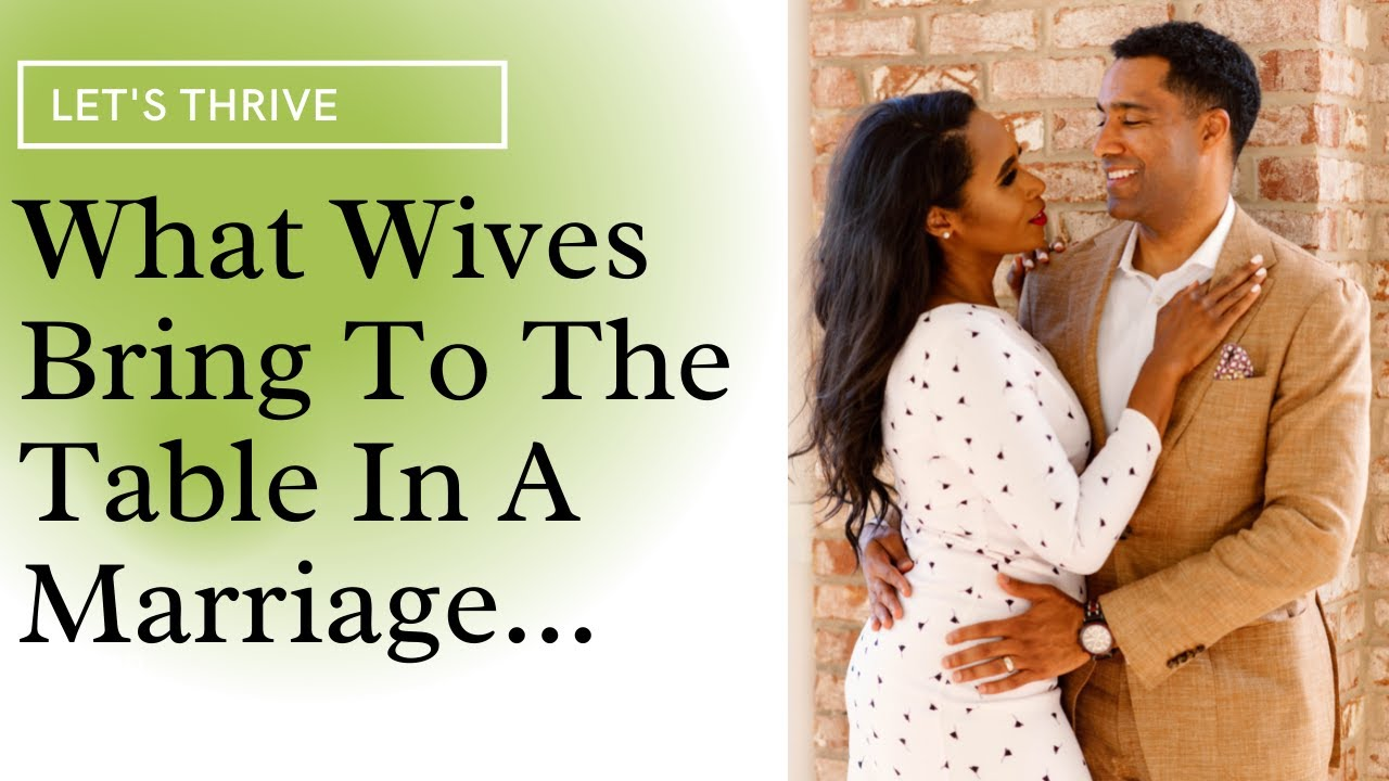 What Black Women Bring To The Table In Marriage