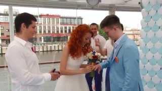 Куражная молодежная Свадьба на теплоходе Антона и Дарьи