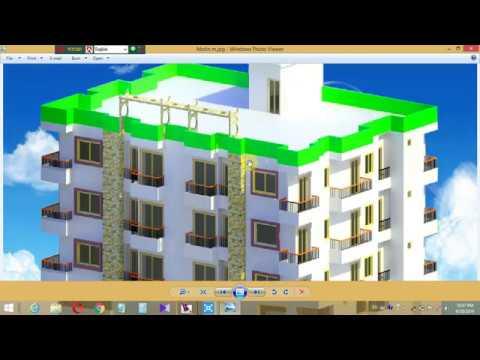 3D House design-1 3D house design tutorial thumbnail