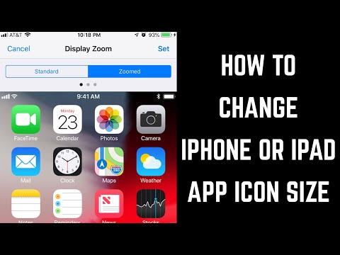 How To Change IPhone Or IPad App Icon Size