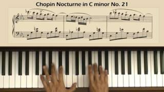 Chopin Nocturne No 21 in C Minor Op Posth