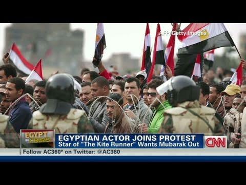 CNN  : Egyptian actor, Khalid Abdalla slams Mubarak regime