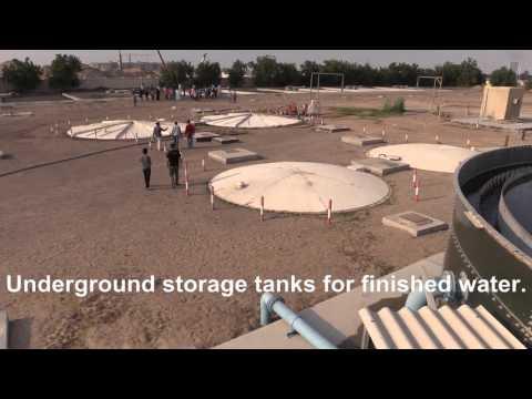 University City (Sharjah, UAE) Wastewater Treatment Plant Tour