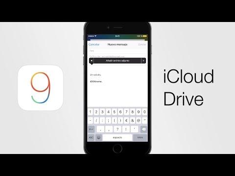 iOS 9 – Adjuntar y descargar archivos de Mail a iCloud Drive