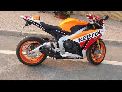 repsol vs cbr 1000 rr exhaust
