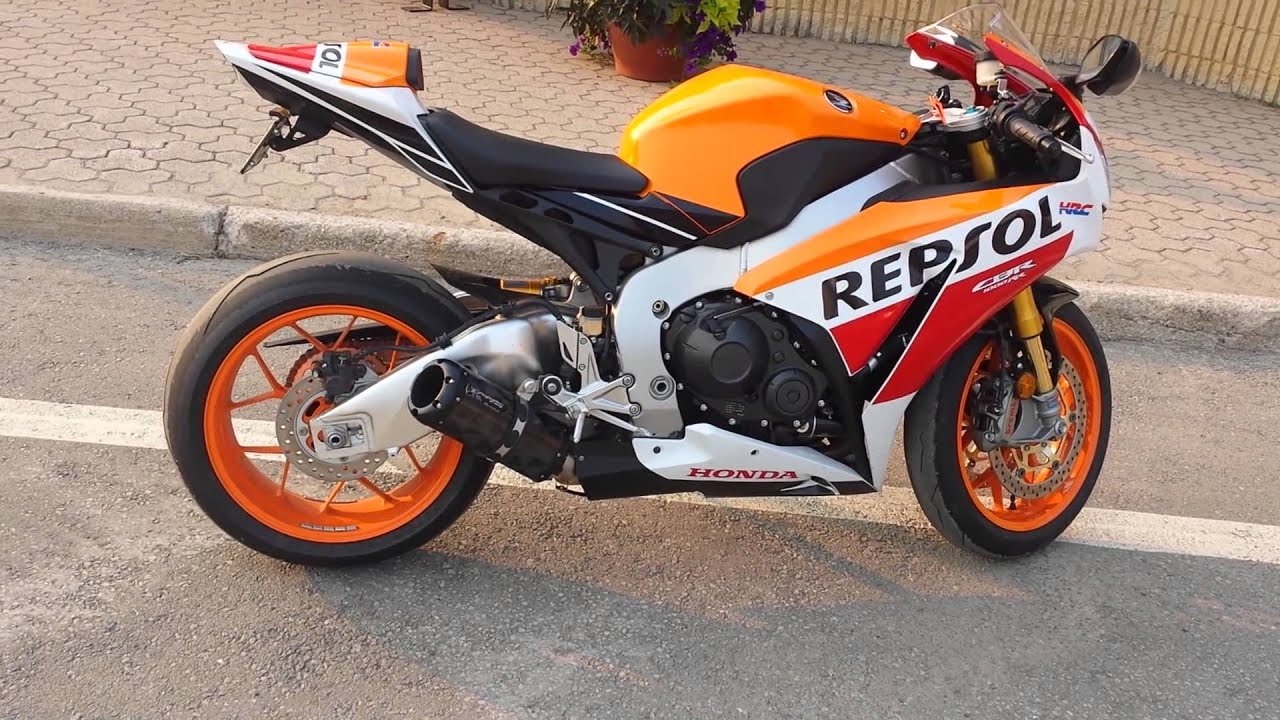 2015 CBR1000RR Repsol 2 Brothers Exhaust