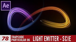 Corso After Effects 78 Particular-Light Emitter Scie