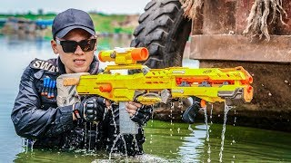 LTT Game Nerf War : Warriors SEAL X Nerf Guns Fight Inhuman Group The Escape From Enemy's Arms