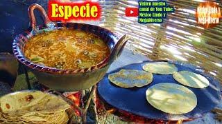 ESPECIE una Comida Tradicional de la Mixteca, Comida para fiestas
