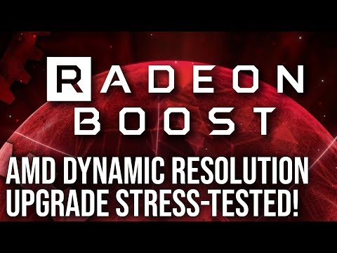 Radeon Boost Analysis: A Free Performance Boost For AMD Graphics Cards?