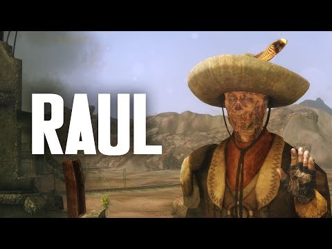The Full Story of Raul Tejada the Old School Ghoul - Fallout New Vegas