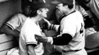 Reggie Jackson and Billy Martin have brawl at Fenway June 18 1977