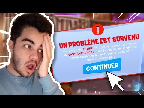 JE ME FAIS BANNIR DE FORTNITE EXPLICATIONS...