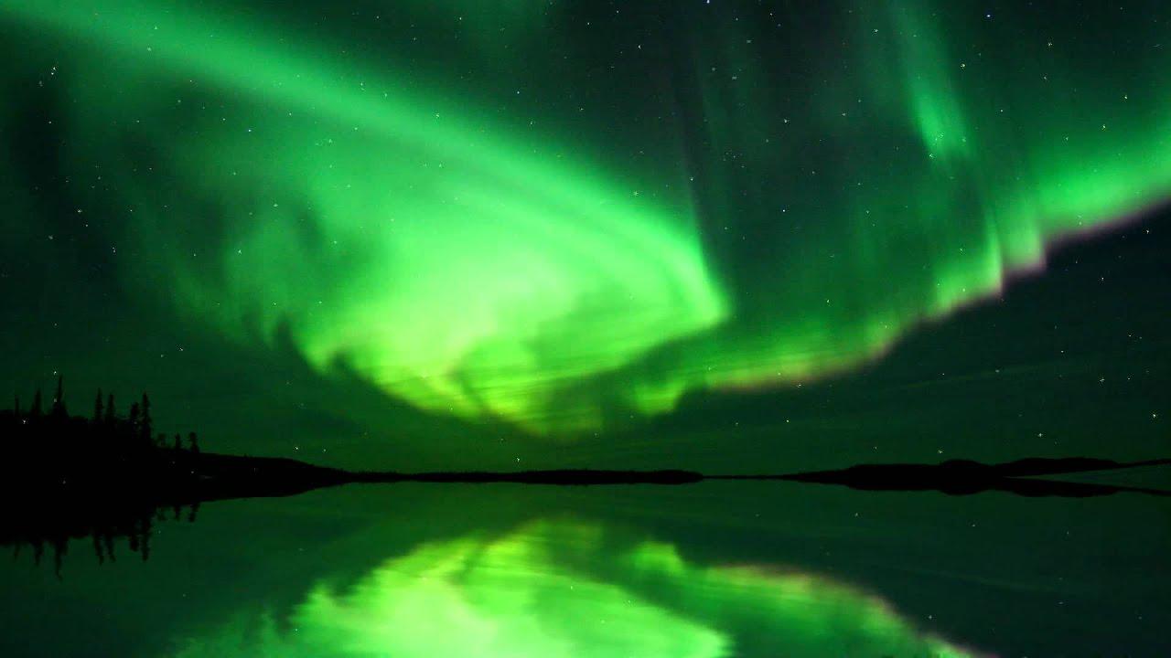 Beautiful Aurora Boreal Animated Wallpaper Httpwwwdesktopanimatedcom