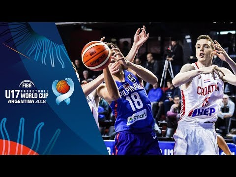 HIGHLIGHTS: Batang Gilas vs. Croatia (VIDEO) 2018 FIBA U17 Basketball World Cup