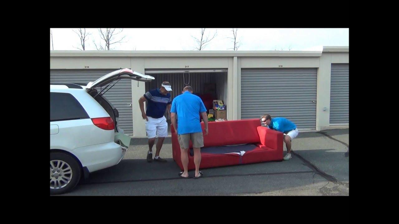 Toyota Sienna Who Needs A U Haul Youtube