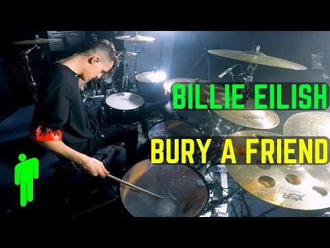Billie Eilish - Bury A Friend   Matt McGuire Drum Cover