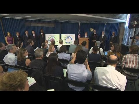 RAW VIDEO: Official briefing on federal college basketball corruption investigation
