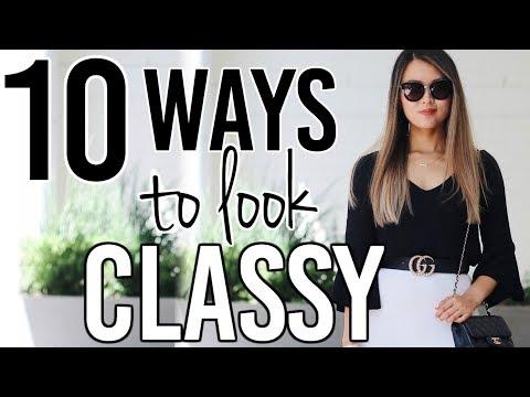 10 ways to always look CLASSY   Isabelle Ahn