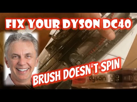 Nick's Life - Fix My Dyson DC40 Vacuum Cleaner - Brush stopped working