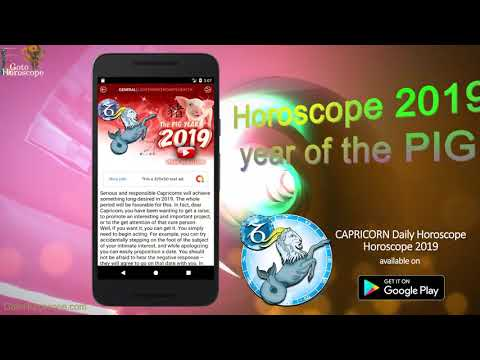 Capricorn Horoscope 2019 - Zodiac Daily Horoscope - Apps on