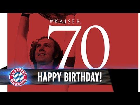 Alles Gute zum 70. Geburtstag, 'Kaiser' Franz!
