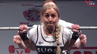 Women Open, 63 kg - World Classic Powerlifting Championships 2018