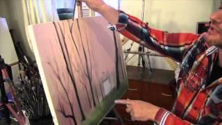 Художник Игорь Сахаров, уроки масляной живописи