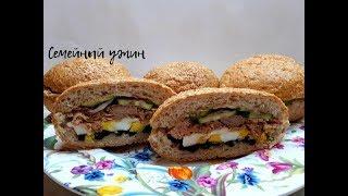 ОЧЕНЬ ВКУСНЫЕ СЭНДВИЧИ для пикника и не только/ Сэндвич под прессом домашний рецепт